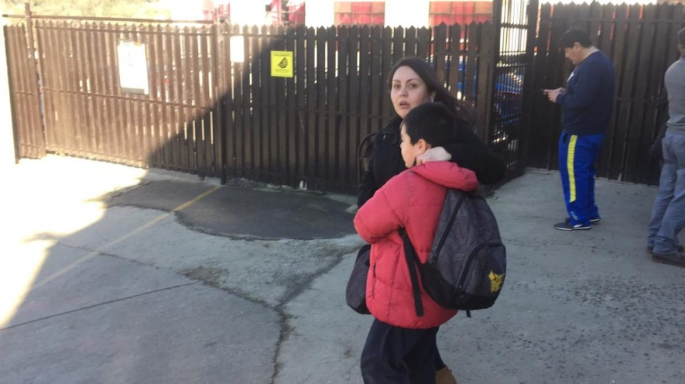 Operativo por posible tiroteo en colegio de Quilpué