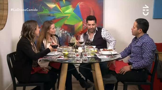 """Karim Butte arrasó en """"La Divina Comida"""" con abundantes platos"""
