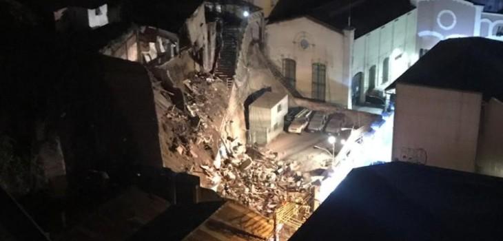Dramático relato de vecinos al momento del derrumbe en Valparaíso