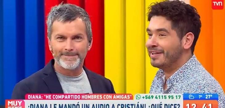 cristian sanchez escucho audio de diana bolocco