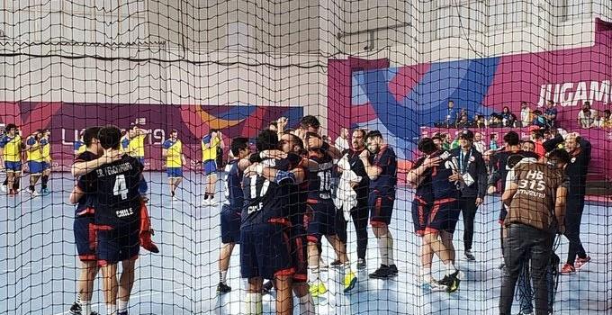 Equipo de balonmano de Chile hace historia en los Panamericanos tras vencer a Brasil
