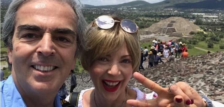 lorenzo lanzo recordo a edith gonzalez con inedita foto