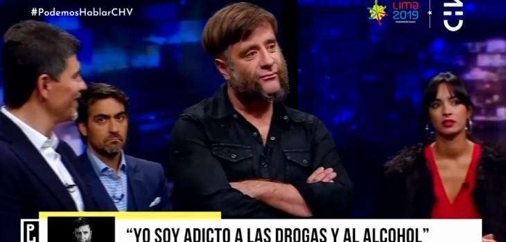 Marcial Tagle contó en Podemos Hablar sobre su adicción a la drogas y el alcohol: