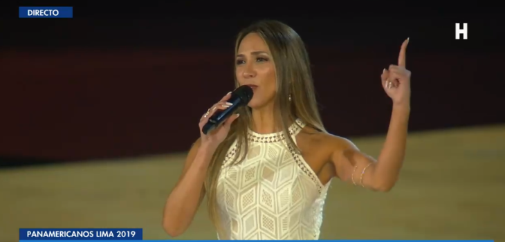 extraña versión del himno de Chile sorprendió al cierre de Lima 2019