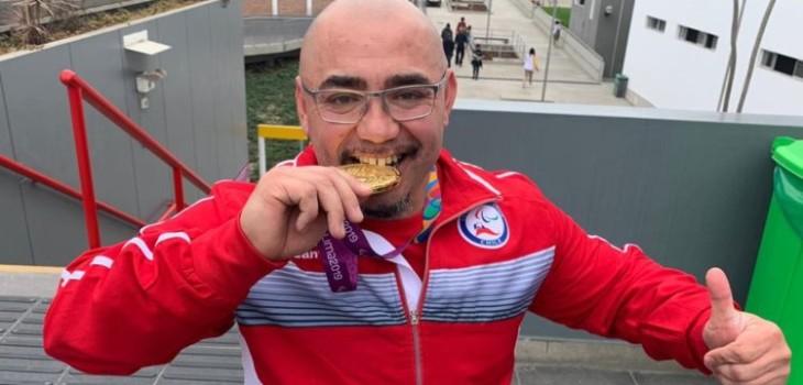 Juan Carlos Garrido gana medalla de oro en los Parapanamericanos