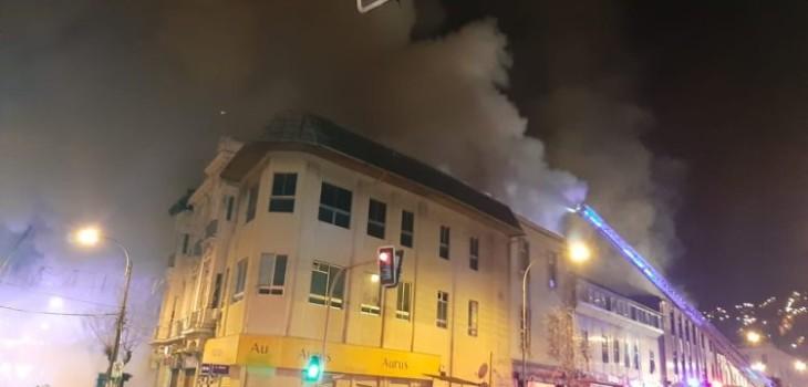 Nueva emergencia en Valparaíso