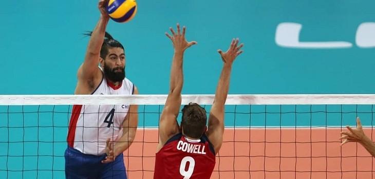 chile vencio a estados unidos en voleibol sala