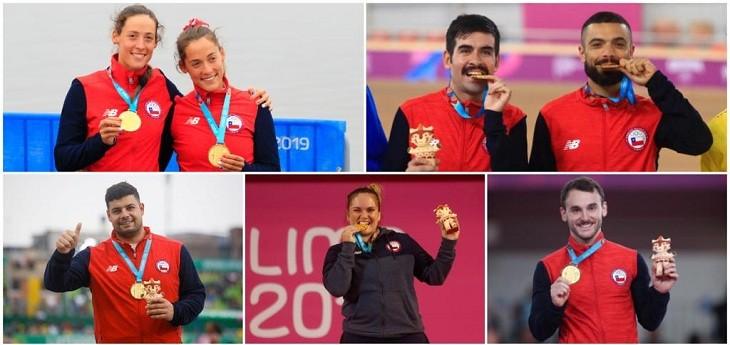 team chile hace historia en panamericanos