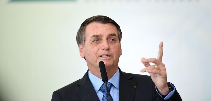 bolsonaro insinuo que incendios es culpa de ong