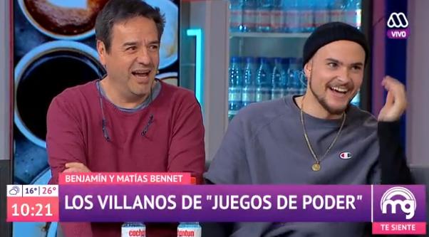 La confusión que sufrió José Miguel Viñuela con los actores de 'Juegos de Poder'