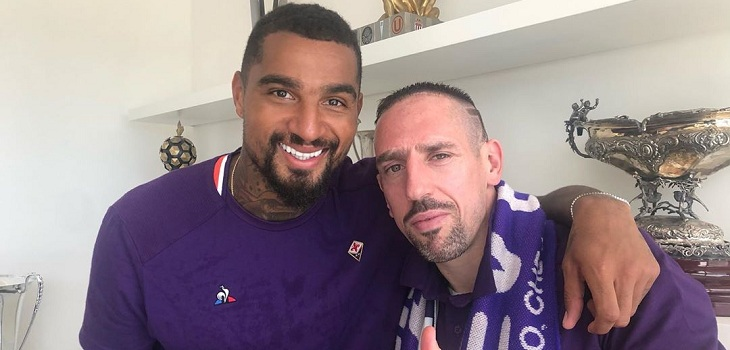 kevin prince boateng y frank ribery