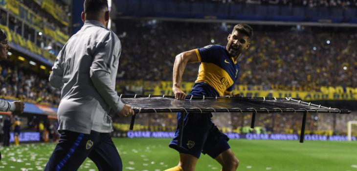 El noble gesto de jugador de Boca Juniors al ver terrible fractura de un rival en Copa Libertadores