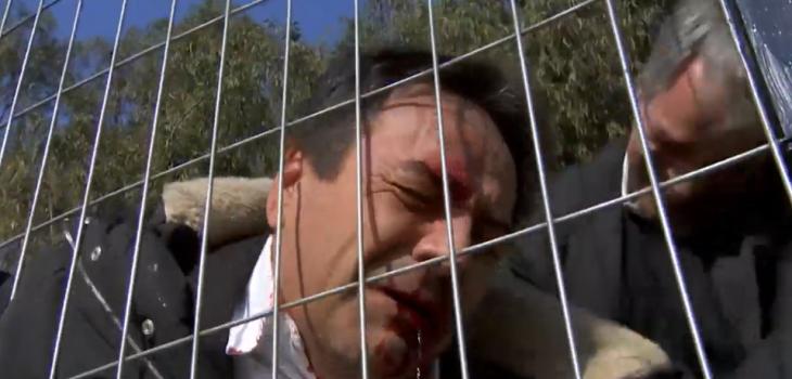 Impactante escena en Juegos de Poder: Matías Bennet recibió brutal golpiza de Mariano Beltrán