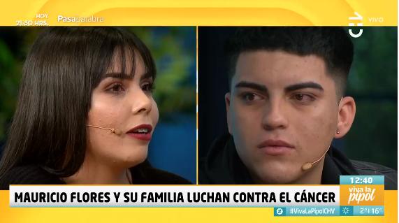 Esposa de Mauricio Flores relató su lucha contra el cáncer en Viva la Pipol