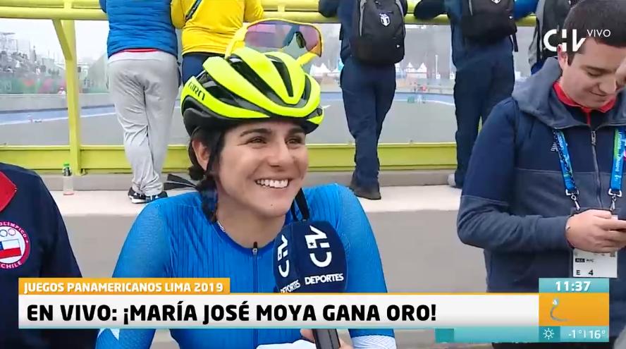 María José Moya gana el oro en patinaje y Chile alcanza su mejor participación en los Panamericanos