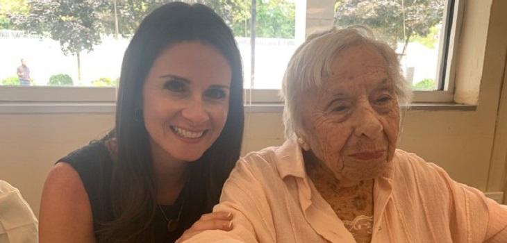 mujer cumplió 107 años