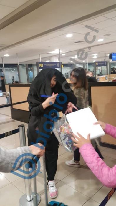 Paloma Mami es descubierta en aeropuerto de Miami