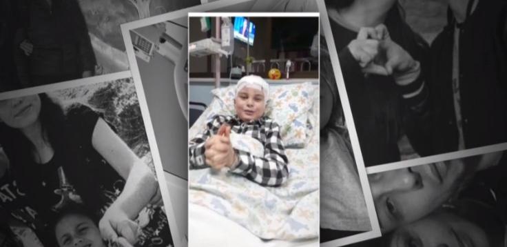 Pequeño invitado cautivó en 'Contra viento y marea': sufre con tumor cerebral