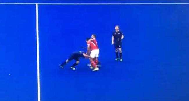 Revelan video de la 'pelea' que no se vio de la selección chilena de hockey en los Panamericanos