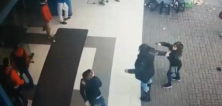 Nueva pelea en el centro de Concepción