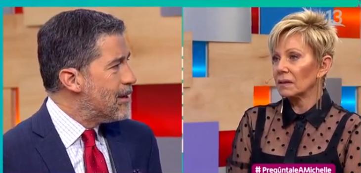 Polo Ramírez y Raquel Argandoña vivieron tenso reencuentro en Bienvenidos