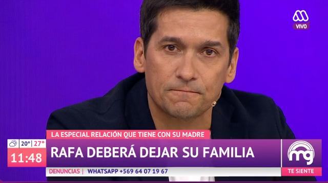 Rafael Araneda reveló cuál es su mayor miedo con su familia antes de partir a EEUU