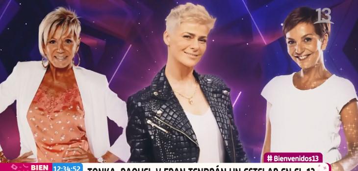Tonka Tomicic y Fran García-Huidobro acompañarán como animadoras a Raquel Argandoña en nuevo estelar