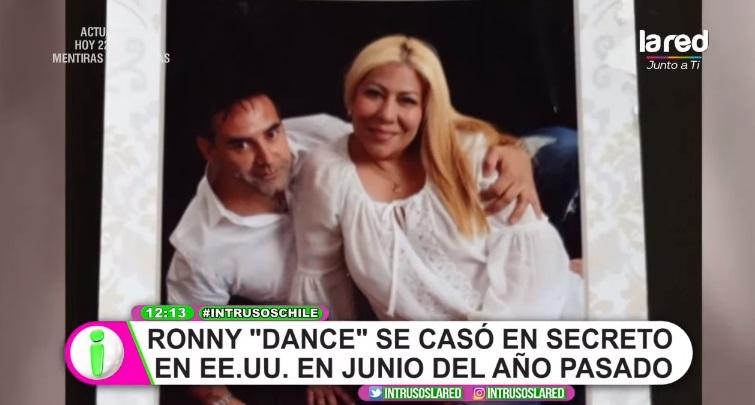 rony dance se casó