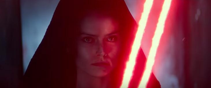 Lanzan teaser de Star Wars: The Rise of Skywalker y fans enloquecen al ver a Rey 'en el lado oscuro'