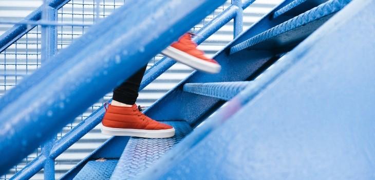 Siempre activo, subir escaleras