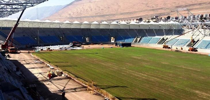 remodelacion del estadio tierra de campeones