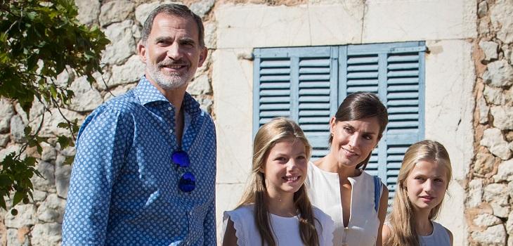 reina letizia aleja a hija leonor de sus primos