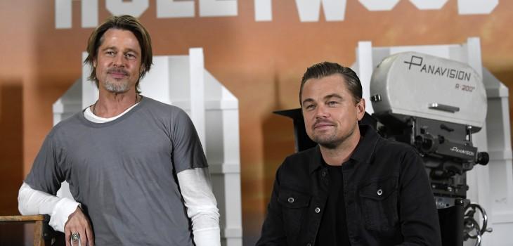 El antiguo conflicto amoroso que habría impedido que Leonardo DiCaprio y Brad Pitt trabajaran juntos