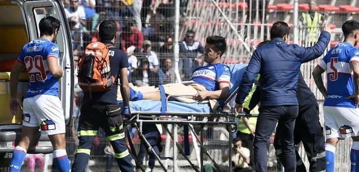 Jugador que provocó fractura del 'Gato' Silva se lamenta