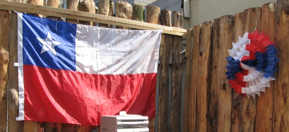 poner la bandera chilena es obligatorio
