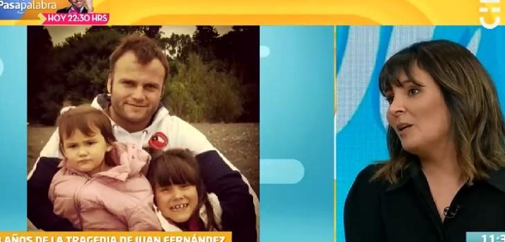 Viuda de Roberto Bruce contó cómo vivió el duelo con sus pequeñas hijas