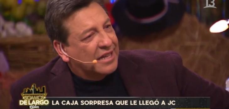 Julio Cesar se emocionó en Sigamos de Largo