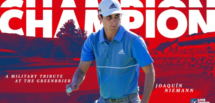 Joaquin niemann gana triunfo histórico en el golf