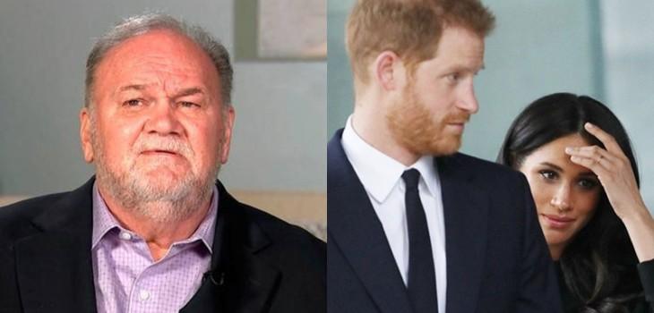 Padre de Meghan Markle volvió a disparar contra su hija y el príncipe Harry: quiere conocer a Archie