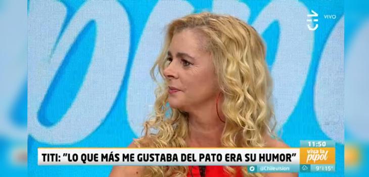 Titi García-Huidobro se quebró al hablar sobre Pato Torres:
