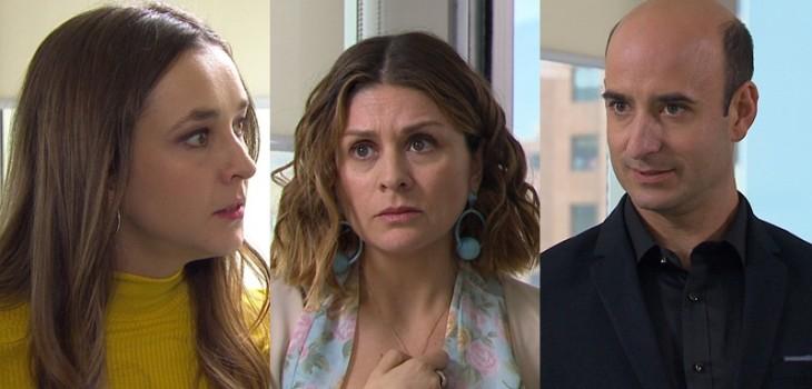Samuel y Angélica frenaron obsesión de Javiera en Verdades Ocultas: la encararon frente a su doctora