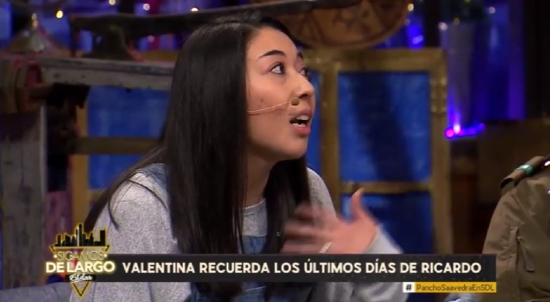 Valentina conmovió con relato tras la partida de su marido en Sigamos de Largo
