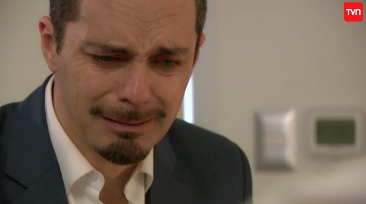 Paulina Urrutia y César Sepúlveda hicieron llorar a todos en la escena más triste de Amar a Morir