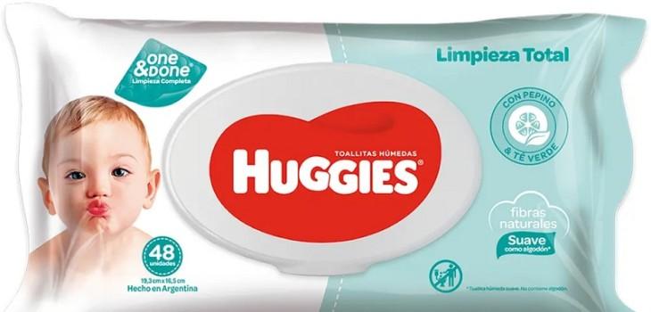 Sernac emitió alerta sobre toallitas húmedas Huggies