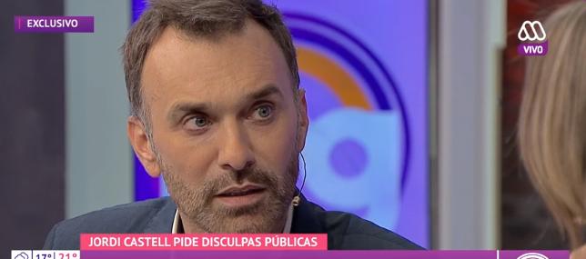 El mea culpa de Jordi Castell tras ser acusado de agredir a una señora