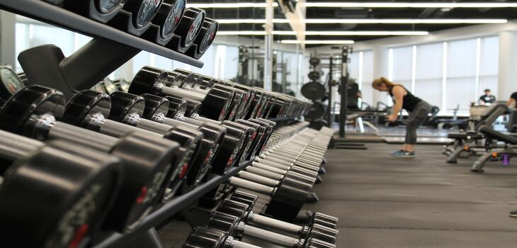 Equipamiento de gimnasio