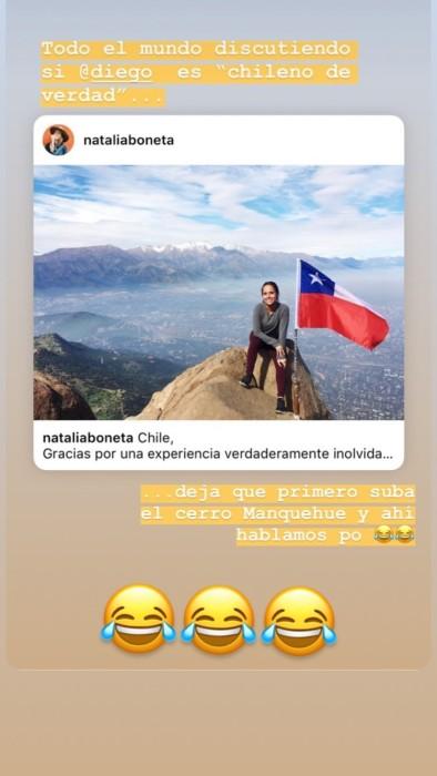 """Diego Boneta fue troleado por su hermana: lo desafió a nueva prueba para ser """"chileno de verdad"""""""