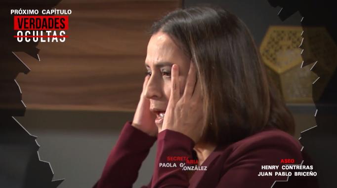 Verdades Ocultas: Rocíó le pegó una cachetada a Eliana y televidentes reaccionaron