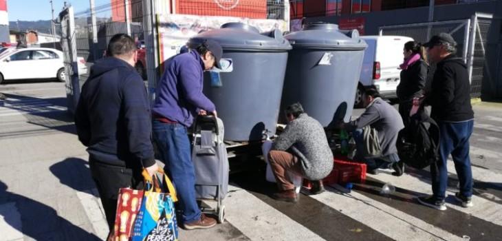Reponen suministro de agua en Chiguayante