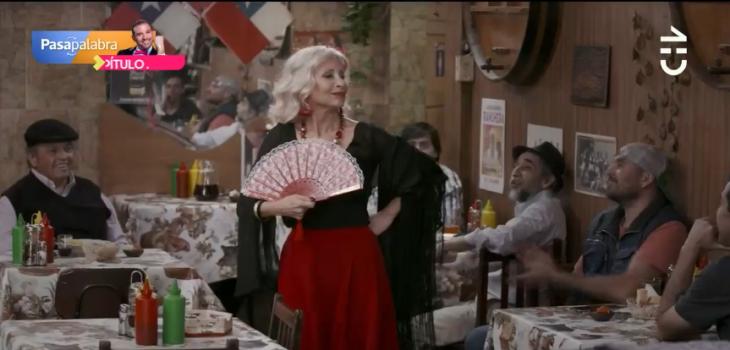 Loreto Valenzuela hizo su primera aparición en 'Gemelas'